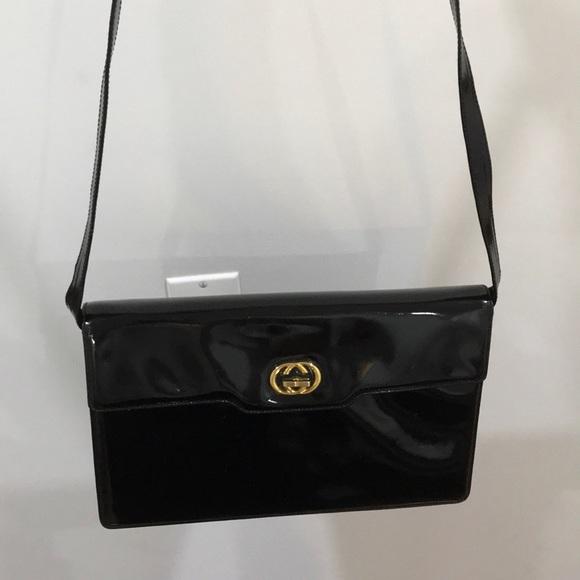 32ecac28189 Gucci Handbags - Patent Leather Vintage Gucci bag.